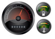 speedometer and dashboard vector eps 10
