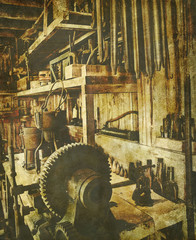 vintage workshop