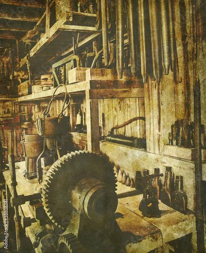 vintage workshop