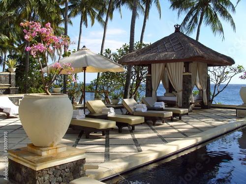 Foto op Plexiglas Indonesië tembok resort