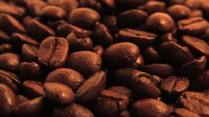 Roasted Coffee Beans (Looping)