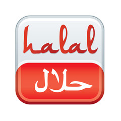 bouton produit - viande halal
