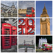 Collage Londres 2012