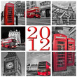 Collage Londres 2012 monochrome