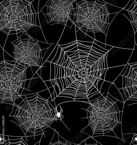 Seamless web background pattern