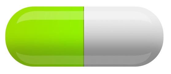 médicament - dopage - gélule verte
