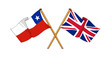 United Kingdom and Chile alliance and friendship