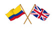 United Kingdom and Colombia alliance and friendship