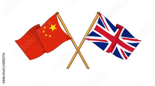 United Kingdom and China alliance and friendship
