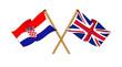 United Kingdom and Croatia alliance and friendship