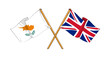 United Kingdom and Cyprus alliance and friendship