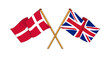 United Kingdom and Denmark alliance and friendship