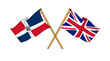 United Kingdom and Dominican Republic alliance and friendship