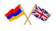 United Kingdom and Armenia alliance and friendship