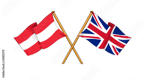 United Kingdom and Austria alliance and friendship