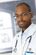 Portrait of handsome medical doctor