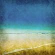 old beach photograph