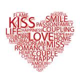 Typographic Love poster
