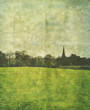 old english countryside photo