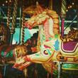 retro carousel
