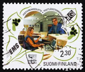 Postage stamp Finland 1994 Postal Service Civil Servants' Fede