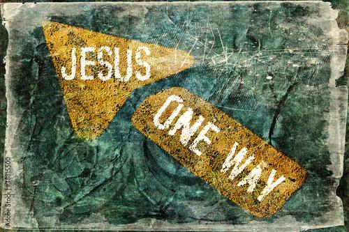 """""""JESUS ONE WAY"""" Religious Background"""
