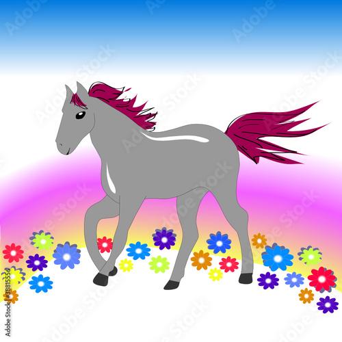 Poster Pony Лошадка