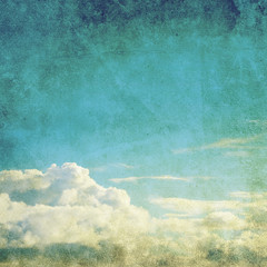 old sky photo