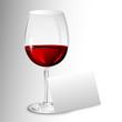 einladung - rotwein