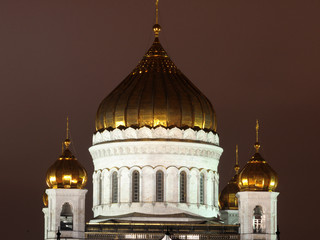 The Cathedral of Christ the Savior. Fragment. Moscow