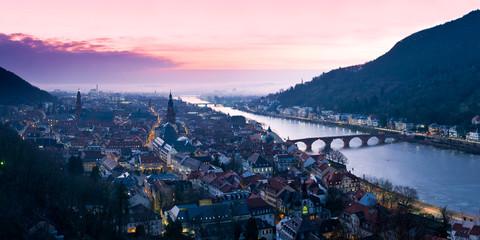 Heidelberg Stadtpanorama