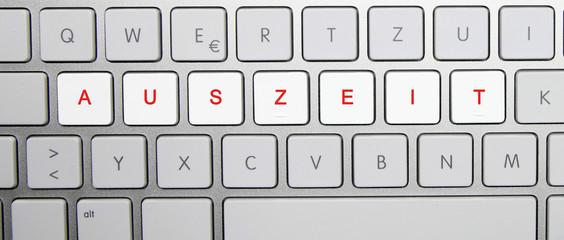 Tastatur Auszeit