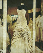 old wedding dress photo