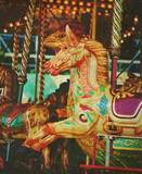 old fairground ride