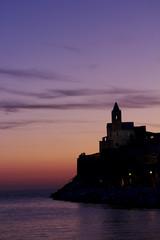 Profilo della Chiesa di San Pietro in Portovenere-La Spezia
