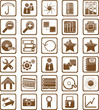 Braune Icons