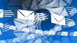 Email Envelopes Flying Animation
