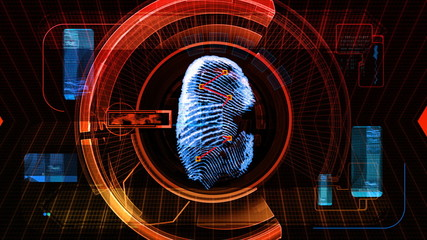 Fingerprint Security Scan Technology (HD)
