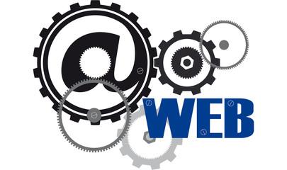 WEB vettoriale