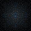 Corduroy background, blue ornamental fabric texture