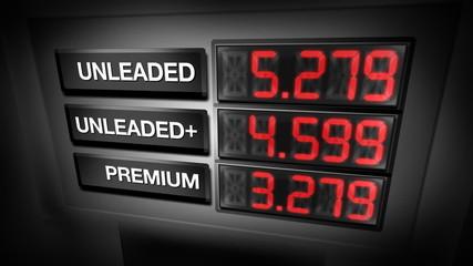 Gas Pump Prices (Digital Animation)