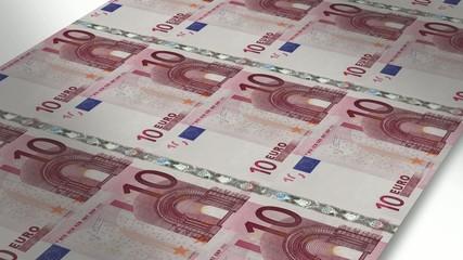 Mint - Printing 10 euro bills