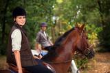 A horseback rider
