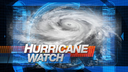 Hurricane Watch - Title Graphics