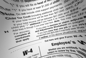 IRS 1040 Tax Form Macro