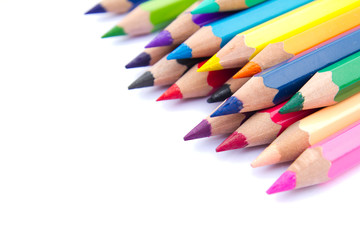 Color pencils background