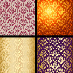 seamless background vintage collection