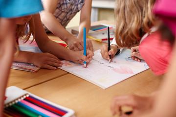 Malen in der Grundschule