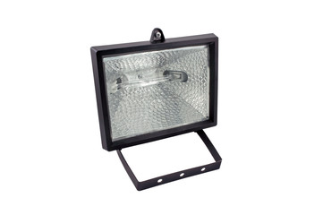 Black halogen lantern