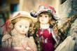 Vecchie bambole - texture